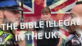 EXPOSED: UK Police Officers marginalize/discriminate against preacher