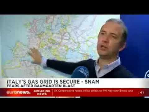 """Snam CEO Alverà: """"Europe needs the Energy Union"""" (EuroNews)"""