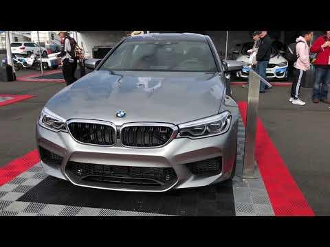 NEW BMW M5 in Donington Grey