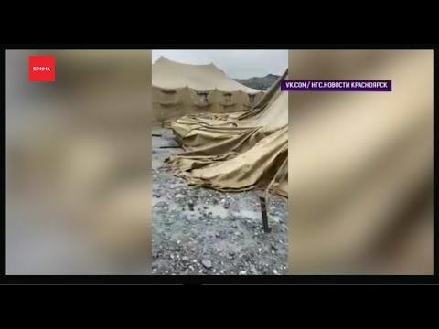 Вахтовики пожаловались на плохие условия в палаточном лагере