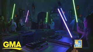 'GMA' Hot List: Inside the new Star Wars: Galaxy's Edge area at Disneyland
