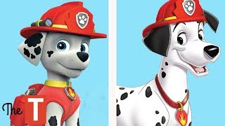 10 Paw Patrol Dogs ALL GROWN UP