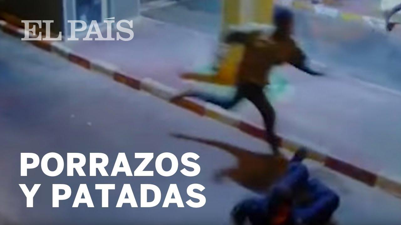 Porrazos y patadas de la Policía en la frontera de Ceuta | España ...