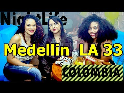 Colombian Women at Colombia La 33 nightclub California