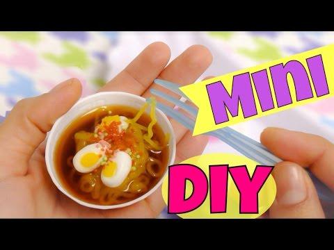 Comida miniaturaRamen Popin Cookincomo hacer comida mini  YouTube