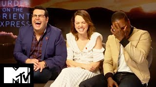 Murder On The Orient Express Cast Reveal Funniest Moments | MTV Movies