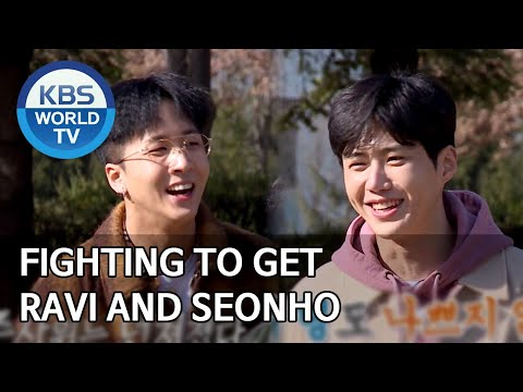Fighting To Get Ravi And Seonho [2 Days & 1 Night Season 4/ENG/2020.04.05]