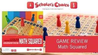 Math Squared Review - by Scholar's Choice