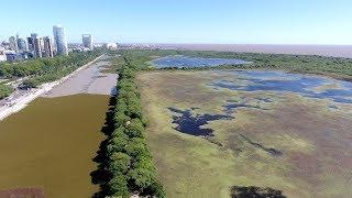 La Costanera Sur y la Reserva Ecológica desde el drone de Télam