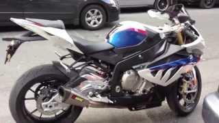Akrapovic BMW S1000RR Full Exhaust System Amazing sound Bx48 Moto Vlog