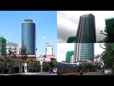 Top Skyline Building 2018 - The Oval Office Tower Skyline Building Phnom Penh City Cambodia