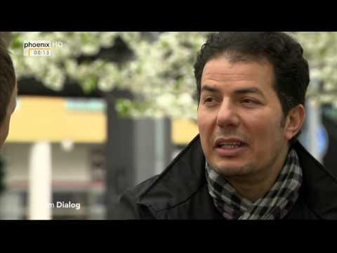 Hamed Abdel Samad im Dialog mit Michael Krons am 12.04.2014