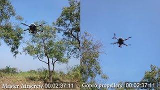 Gopro Karma Master AirScrew Propellers Drift -Battery life & Noise test