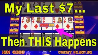 Video Poker JACKPOT 2018! Royal Flush as it happens!