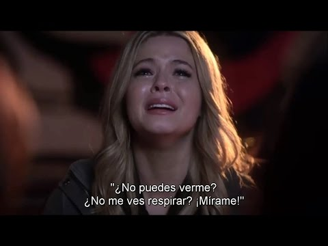 """PLL - Alison Dilaurentis in that crazy night Flashback SUBTITULADO 4x24 """"A"""" is For Answers"""