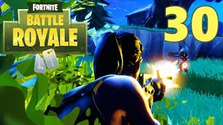 [30] AmBUSHed and 1 HP Victory! (Let's Play FortNite Battle Royale)