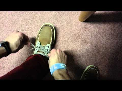 How To Tie Sperry Topsider Shoes Correctly