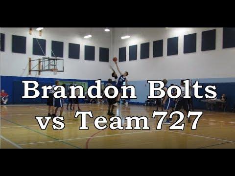 Brandon Bolts vs Team 727 - Super 6 AAU Tournament, Clearwater FL