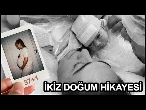 IKIZ DOGUM HIKAYESI - NORMAL DOGUM + SEZERYAN!