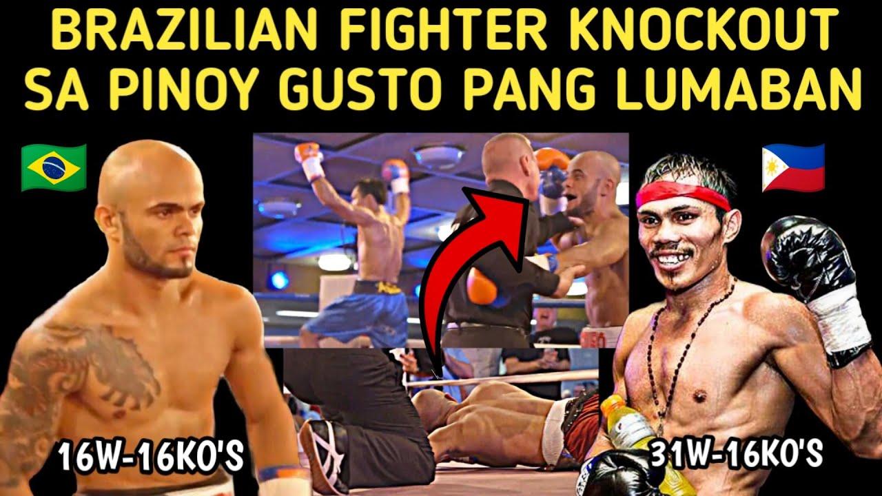 🇵🇭 Brazilian Fighter Knockout Sa Pinoy Gusto Pang Humirit Na Lumaban