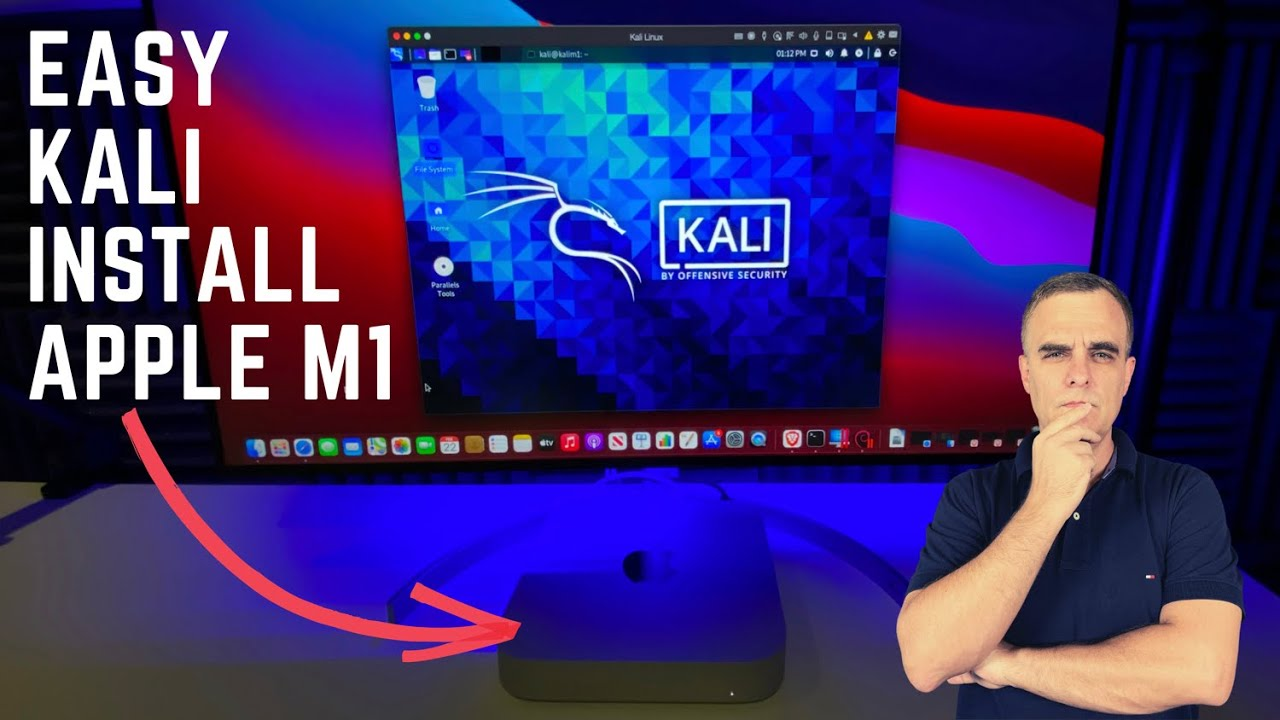 Kali Linux install Apple M1
