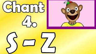 Alphabet Chant 4. S to Z - Preschool Kindergarten Education