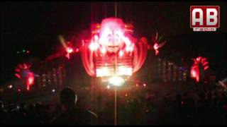 Mysteryland 2009 [HD] DJ Luna bij de Q-Dance stage [3/4] Early Rave (Mystery Land)