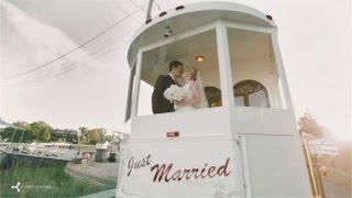 Massachusetts Wedding Video  //  Katherine + Chris  //  New England Charm