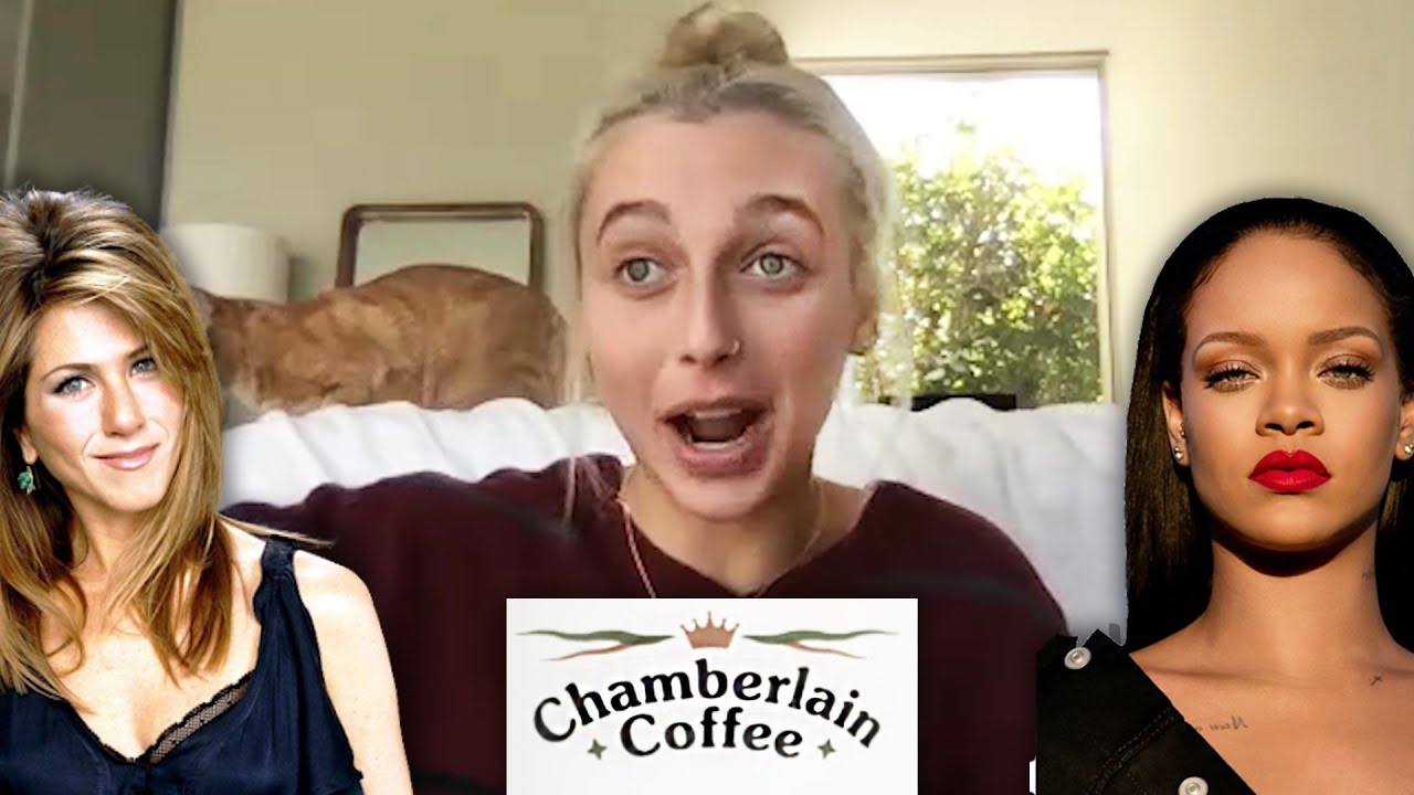 Emma Chamberlain Pitches Chamberlain Coffee To Cardi B & Rihanna
