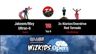 T3   Winter Wko 2017   2x Klarion/red Tornado Vs Jakeem/mxy/drone [heroclix Meta Game]