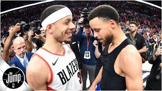 Did Seth Curry's trash talk end Steph's four-year free throw streak? | The Jump