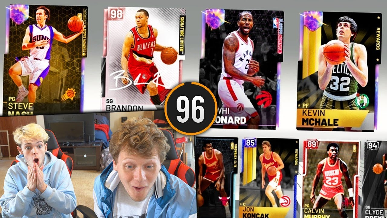 2 PLAYER PACK AND PLAY NBA 2K19!