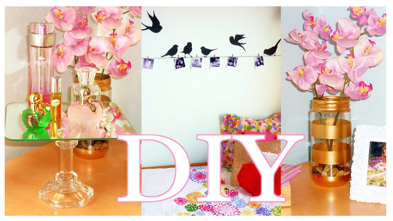 DIY ROOM DECOR Cheap & cute projects | LOW COST ideas ...