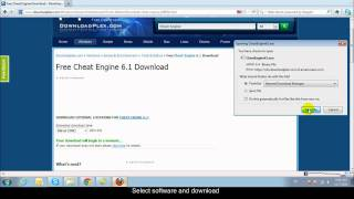 Gambar cover how to download and install Cheat Engine 6.1 on www.downloadplex.com