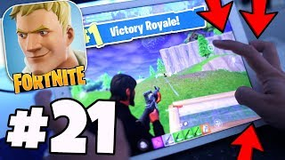 Exposing *SECRET* Way Of Playing FORTNITE MOBILE! (No Hack / Cheat) - Fortnite IOS / Android #21