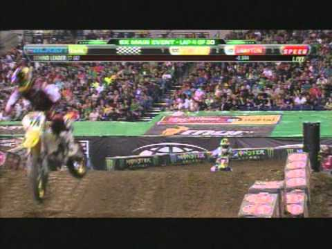 Supercross Indianapolis 2012 450 Main Event rd 11