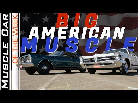 421 Pontiac Vs. 427 Ford 4 Doors  Muscle Car Of The Week Video Episode 313 V8TV