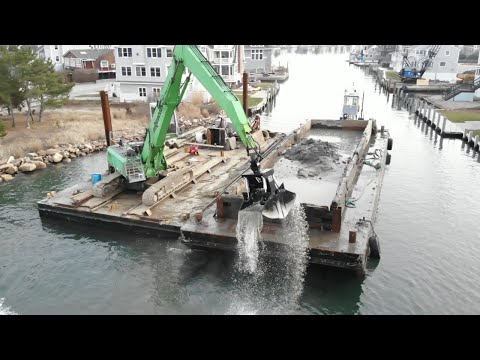Dredging Groton Long Point: Sennebogen Lends Big Assist to Gwenmor Marine Contracting