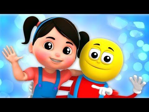 rimas infantis e músicas infantis   Vídeos para crianças   Cartoons de Farmees Portuguese