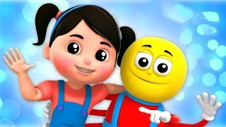 rimas infantis e músicas infantis | Vídeos para crianças | Cartoons de Farmees Portuguese