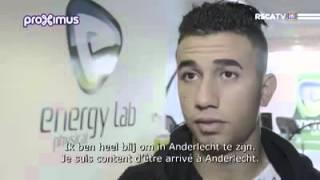 اندرلخت يقدم لاعبه الجديد محمود حسن تريزيجية