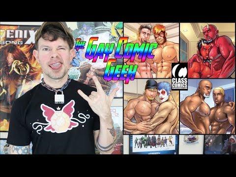 Mini Hook-Ups #1 - Class Comics Gay Comic Book Review (SPOILERS)