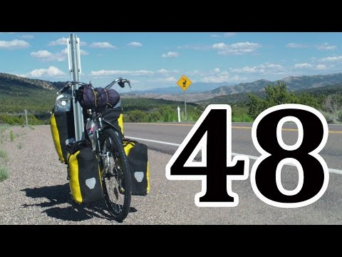 bicycle touring, Eureka NV, Hickison Petroglyphs Recreation Site