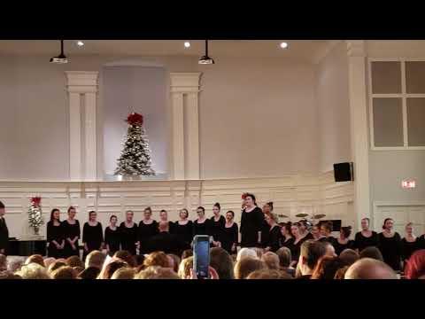 2018 Christmas Choir Concert Ballard Memorial High School and Ballard Middle School