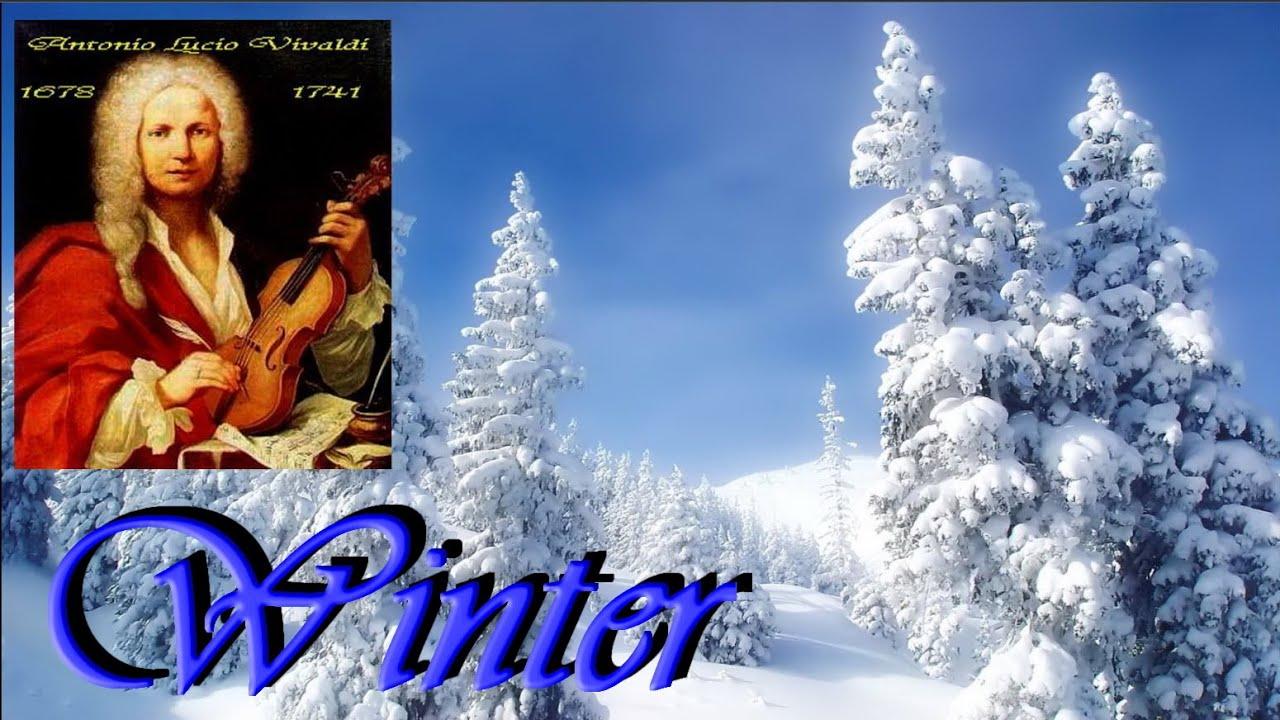 ANTONIO VIVALDI - L 'Inverno (Winter - full version ) - YouTube