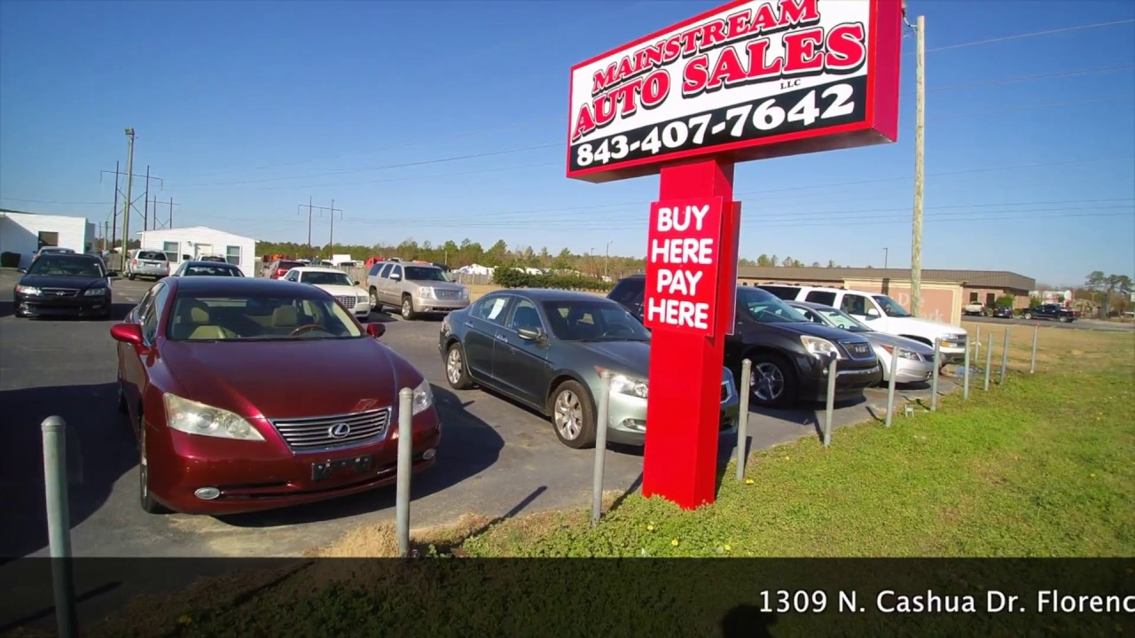 Car Dealerships In Florence Sc >> Main Stream Auto Sale 1309 N Cashua Dr Florence Sc