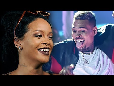 Rihanna Reacts To Chris Brown Flirty 'Lamp' Comment