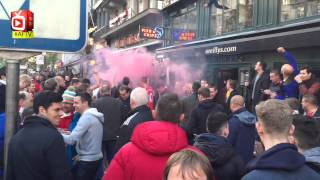 Gooners Owning Brussels ahead of Anderlecht v Arsenal