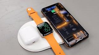 «Прототип» Apple AirPower   беспроводная зарядка для IPhone реальность