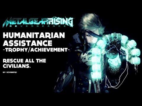 Metal Gear Rising: Revengeance - 'Humanitarian Assistance' Trophy/Achievement Video Guide